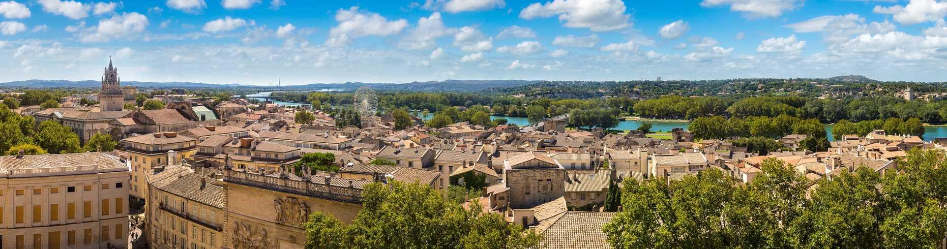 Vue panoramique Avignon