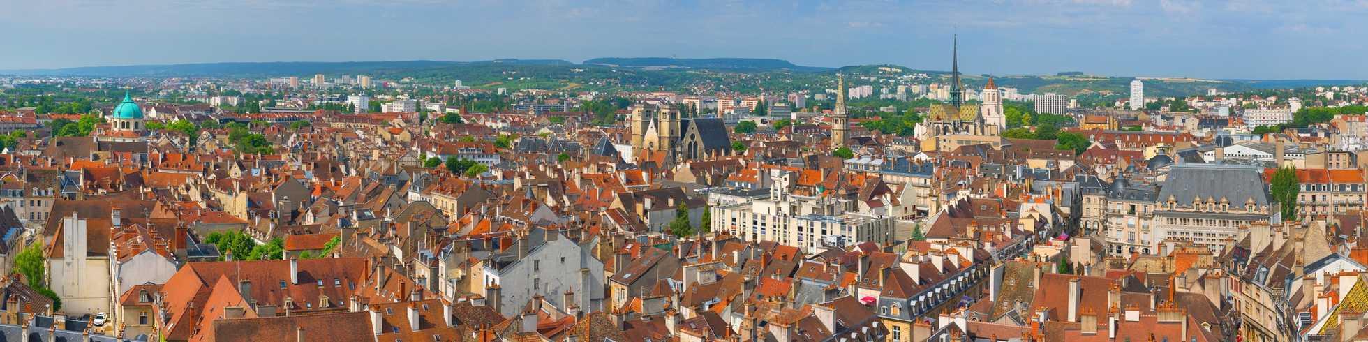 Dijon vue panoramique