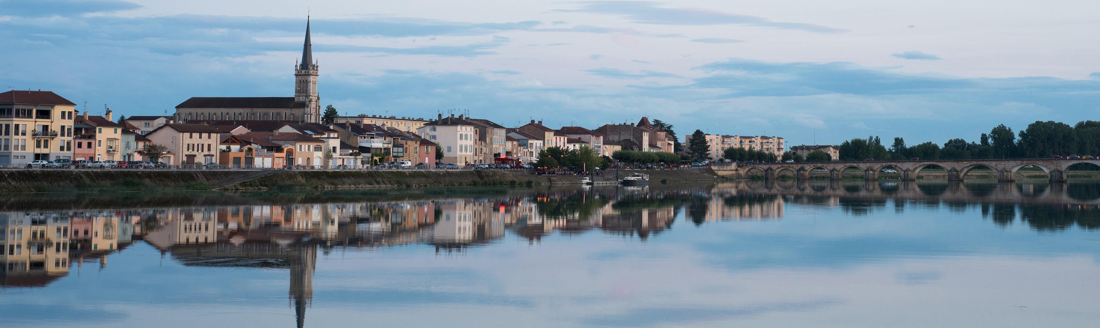 Saône-et-Loire département photo