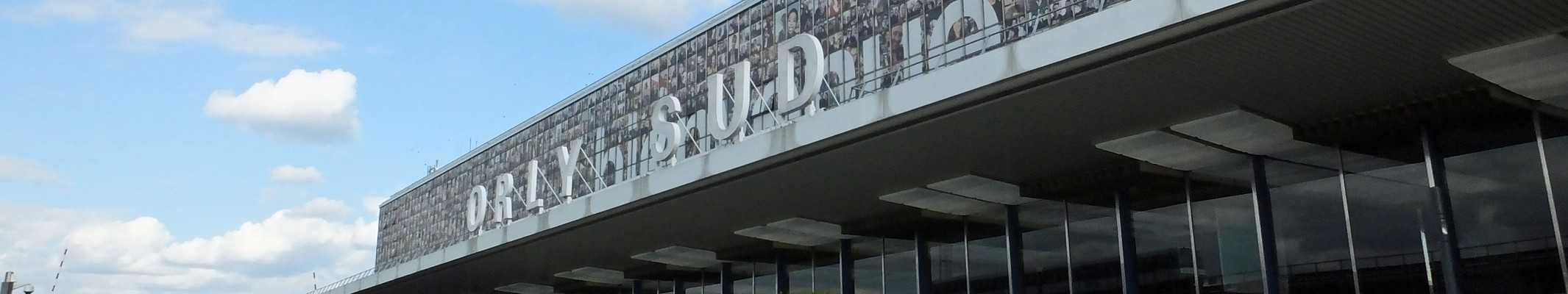 Panorama de l'aéroport d'Orly au Terminal Sud