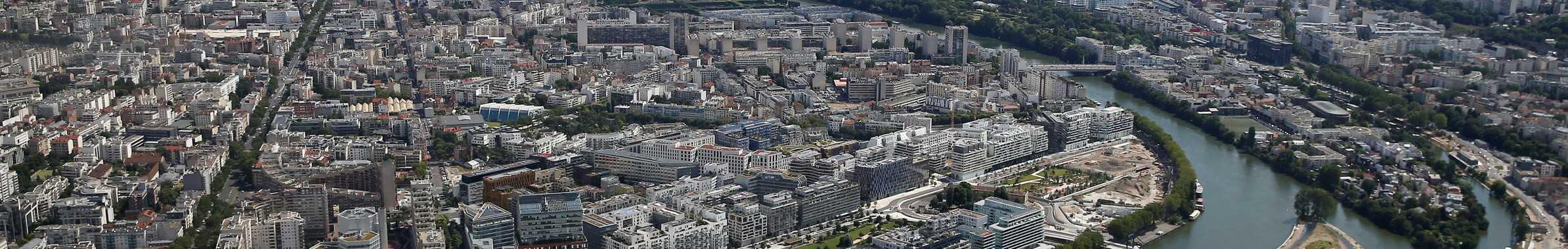 Boulogne-Billancourt vu de haut
