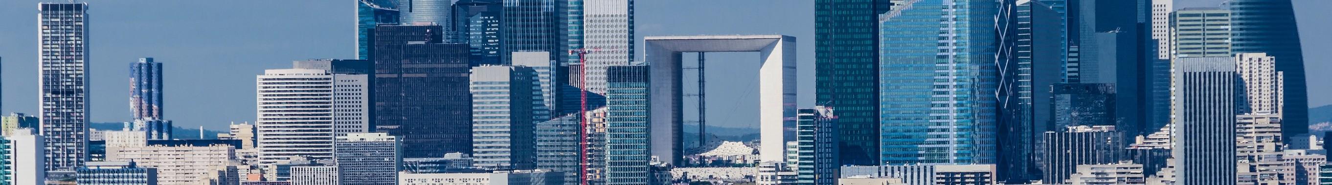 Vue panoramique de la Défense