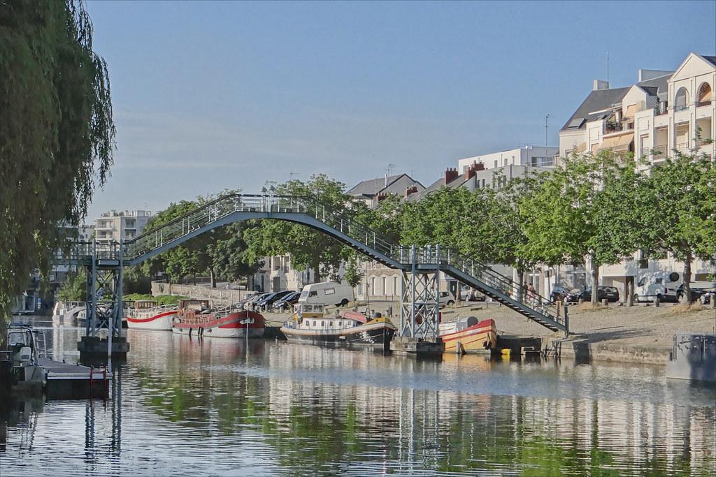 Photo Nantes bord de fleuve