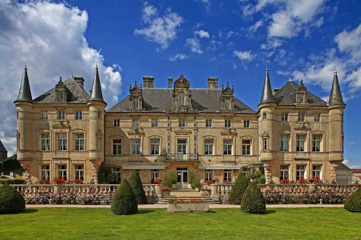 Photo chateau region reims