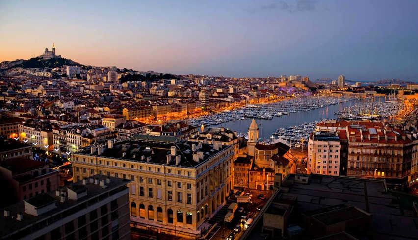 Marseille Soirée Harbor