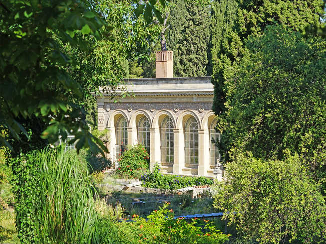 Photo Jardin des plantes Montpellier