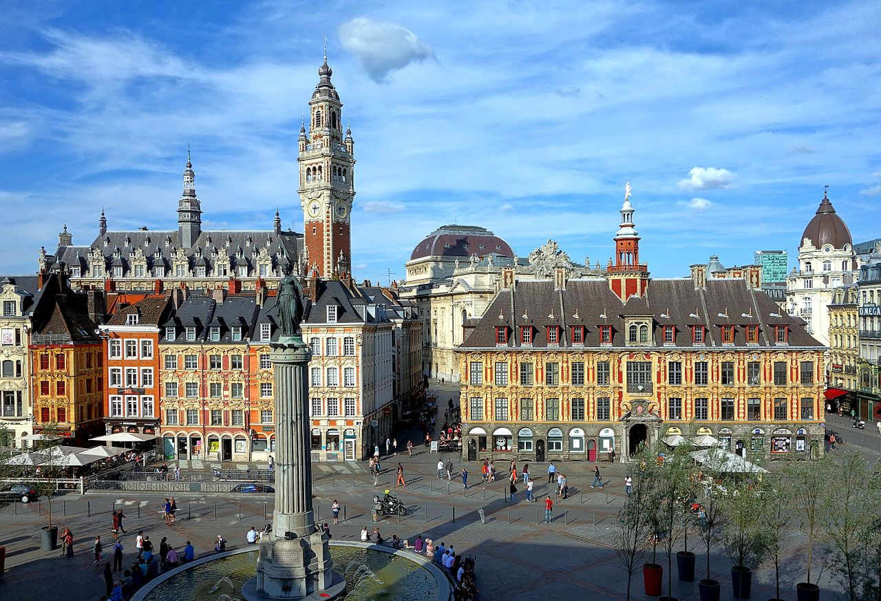 Photo grand place lille