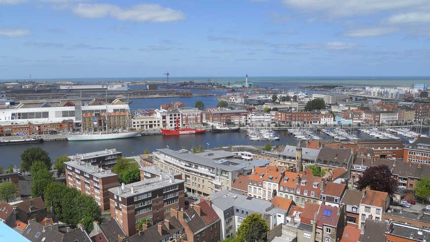 Vue de Dunkerque pendant Hotel Séminaire
