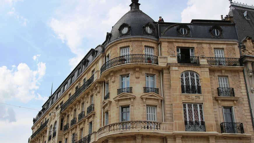 Vue de Dijon pendant Hotel Séminaire
