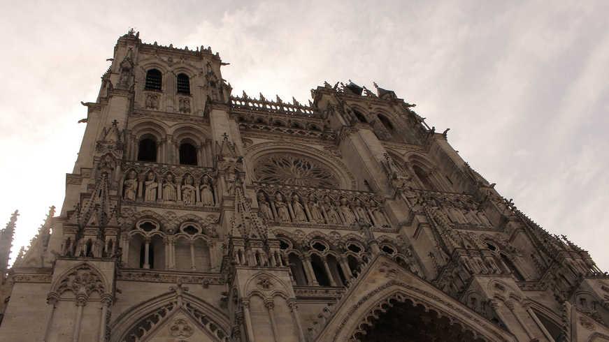 Vue de Amiens pendant Hotel Séminaire
