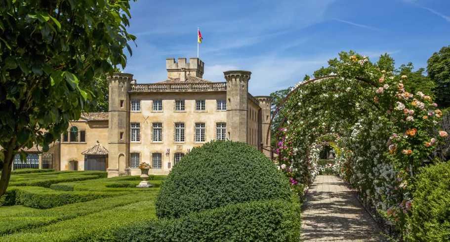 Un chateau pour location à Aix-en-Provence