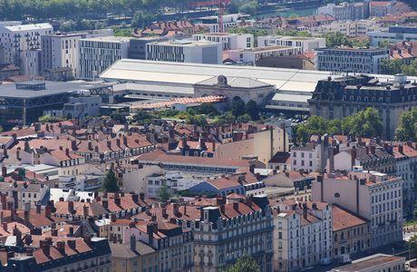 Quartier de Perrache à Lyon