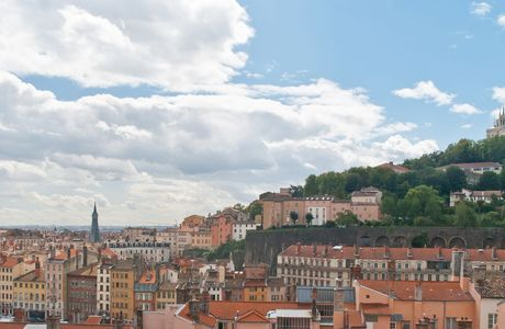 Quartier de Fourvière à Lyon