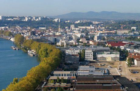 Quartier de Vaise à Lyon
