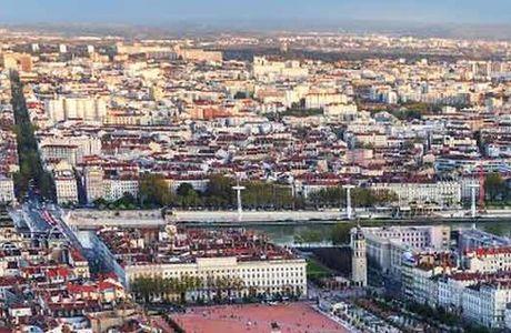 Quartier de Monplaisir à Lyon