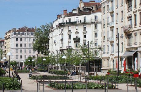 Quartier des Brotteaux à Lyon