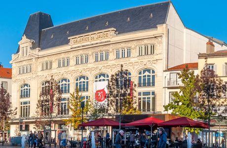 Galeries de Jaude à Clermont Ferrand