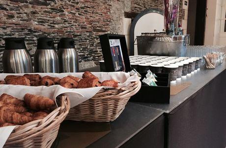 Chateau de la Romanerie petit déjeuner