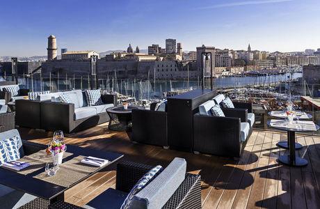 Terrasse les Trois Forts à Marseille