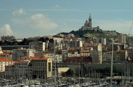 Vieux Port Bonne Mère de Marseille
