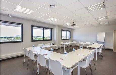 Salle de réunion de l'espace d'entreprise Garosud à Montpellier