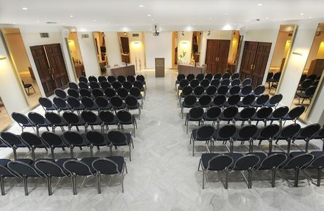 Salle de conférence de 'hôtel Splendid à Nice