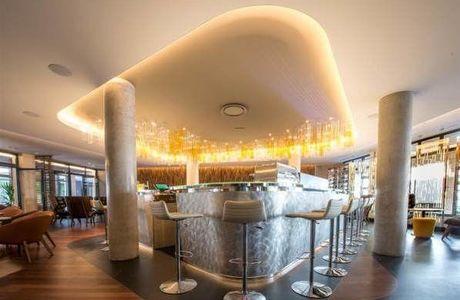 Bar de l'hôtel de La Paix Best Western à Reims