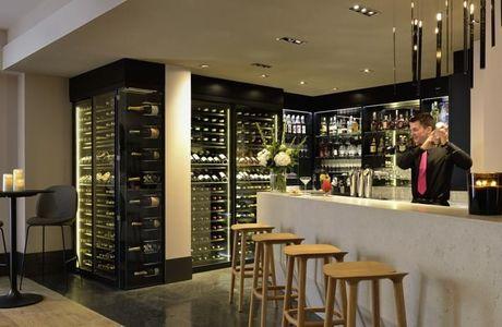 Bar de l'hôtel Balthazar à Rennes