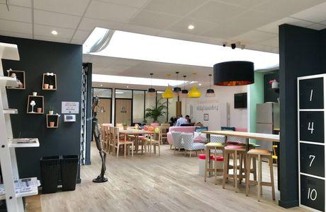 Espace salon au Loft de Rennes