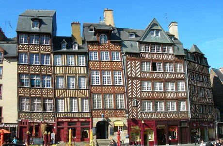 Place Charles Jacquet à Rennes