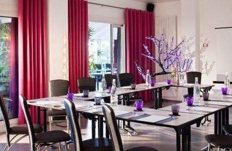 Salle de réunion Swing de l'hôtel du Golf de Saint Etienne