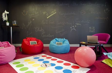 Brainstorming room du Radisson Blu Hotel Paris Boulogne