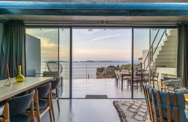 Photo la villa de william vue mer