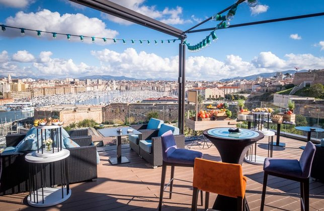 Photo sofitel marseille rooftop