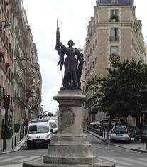 Statue de Jeanne d'Arc, Paris 13ème