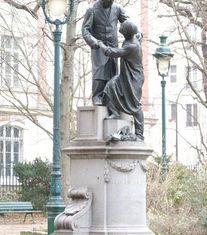 Dalou Jean Leclaire Épinettes, Paris 17ème