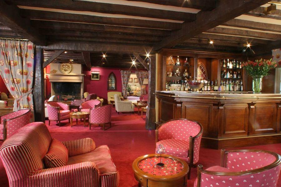 Hostellerie la Briqueterie - Bar comptoir