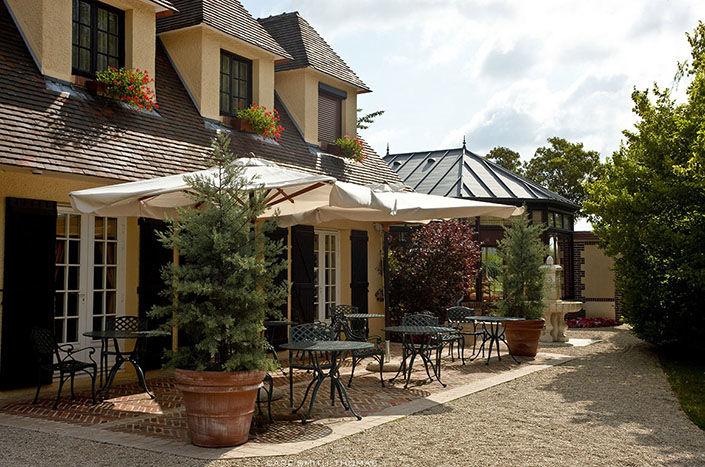 Hostellerie la Briqueterie - Terrasse