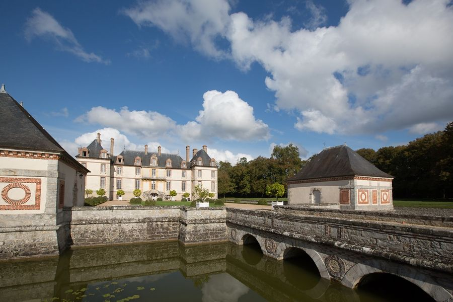 Château de Bourron - Douves