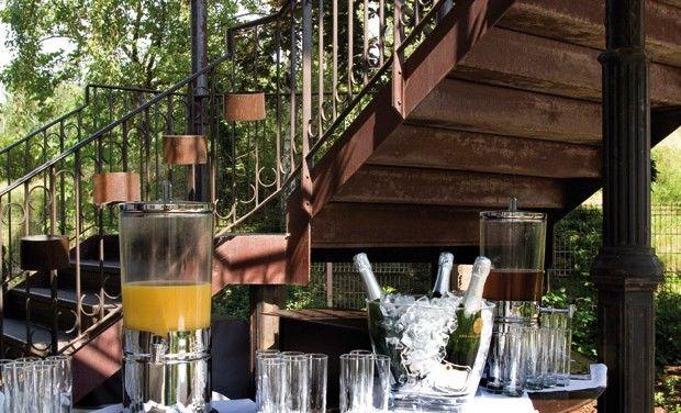 Restaurant l'Île - Cocktail extérieur