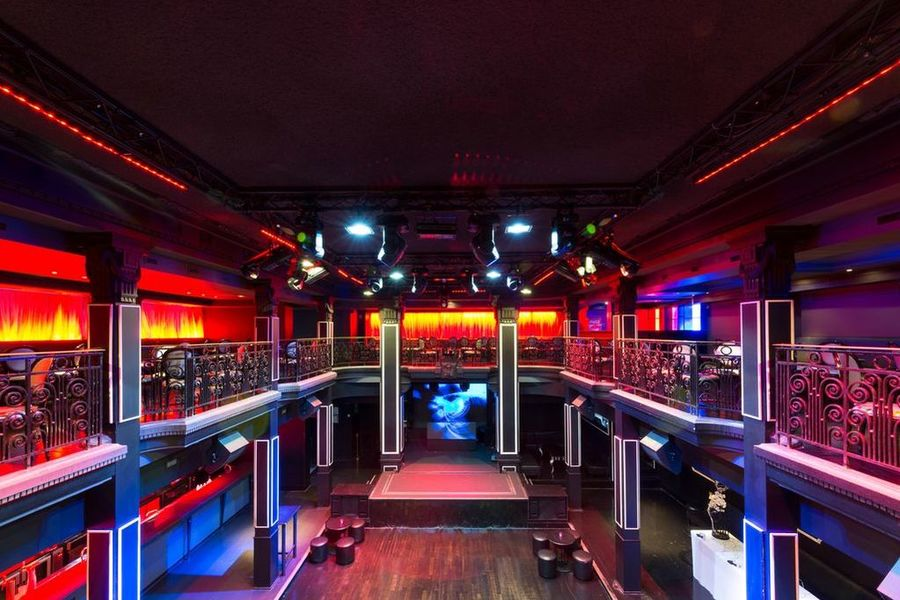 Club Haussmann - Vue Mezzanine