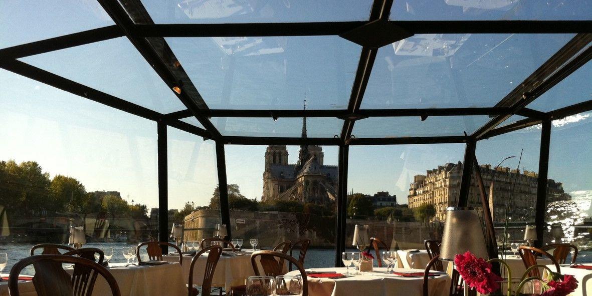 Grand Pavois - Vue sur Paris