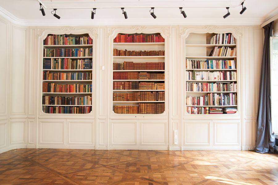 Mona Bismarck American Center - Etage bibliothèque
