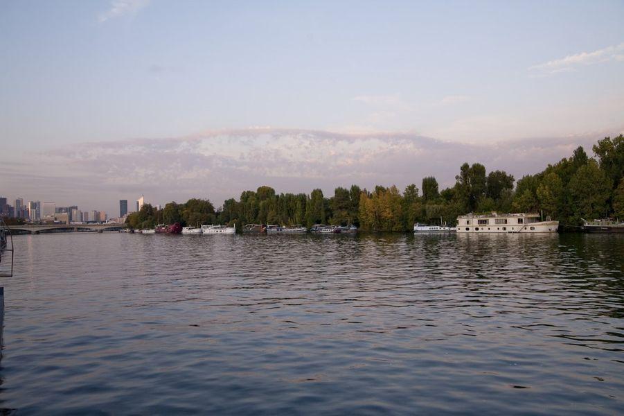 Salon sur l'eau - Vue sur le Seine 1