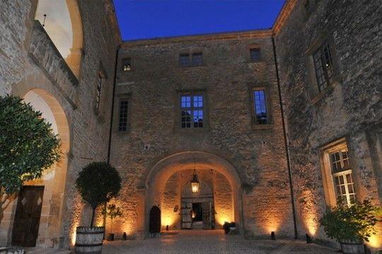 Château de Bagnols - Cour intérieure