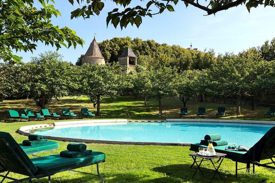 Château de Bagnols - Piscine