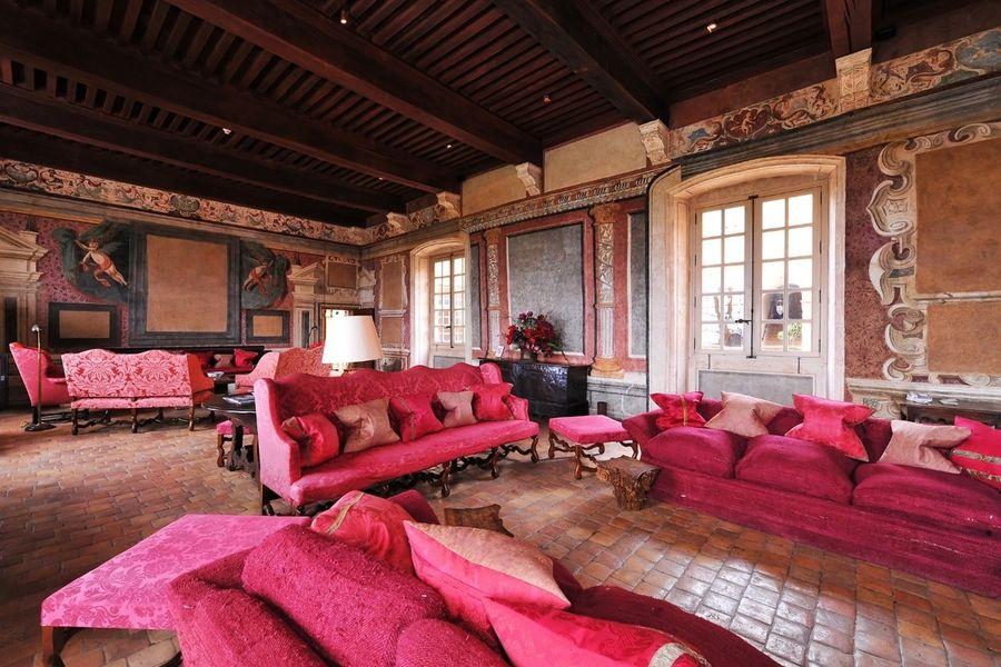 Château de Bagnols - Salon 3