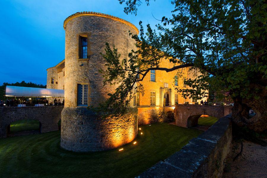 Château de Bagnols - Vue de nuit