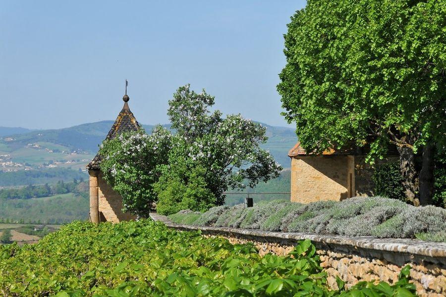 Château de Bagnols - Vue