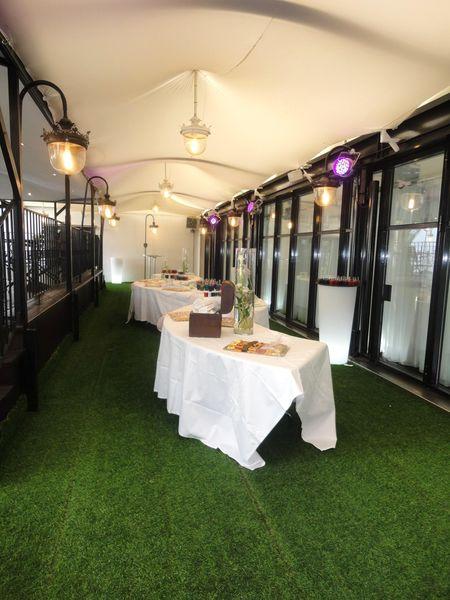 Terrasses du Parc - Buffet sur la Terrasse